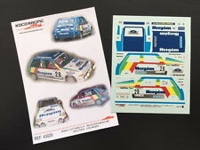 DECAL 1:43 RENAULT 5 GT TURBO #28 J.PURAS /J. ARRARTE - RALLYE COSTA BRAVA 1987
