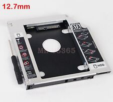 2nd SATA Hard Drive SSD Caddy for Sony Vaio VPC-F13S1E UJ890AS optical DVD bay