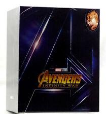 AVENGERS INFINITY WAR Blu-ray [3D+2D] Steelbook BLUFANS BOXSET ONE CLICK [CHINA]