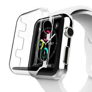 Apple Watch Series 1/2/3/4 38mm Clear Case Cover + Bonus Screen Protector