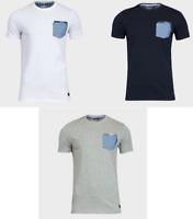 40e45bf43 Mens Brave Soul Designer T-Shirt Crew Neck Short Sleeved Cotton T shirt