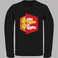 New The Price Is Right TV Game Show Logo Black Long Sleeve T-Shirt Size S-3XL