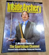 Inside Archery September 2008 Bow Hunting C Michael Cooley Crossbows Cameras >