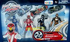 "Power Rangers RPM Rapid Pursuit 5"" Blue Lion Red Eagle Black Wolf Gold Set New"