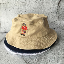 Teddy Bear Stadium Hat Soprtman Vintage Khaki Black Bucket Cap Colors Outdoor