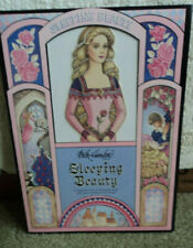 1991 PECK-GANDRE SLEEPING BEAUTY PAPER DOLLS COMPLETE AND UNUSED@