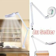 Magnifying Lamp LED 5 Inch SMD 5 Diopter Magnifier Desk Light White 5x 220v