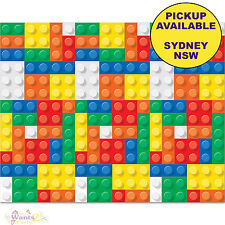 LEGO PARTY SUPPLIES BUILDING BLOCKS BACKDROP SCENE SETTER WALL DECORATIONS