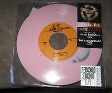 """Gram Parsons/Lemondheads """"Brass Buttons"""" 7"""" PINK Vinyl  RSD 2015 *NEW/Unplayed*"""