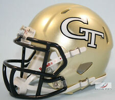 GEORGIA TECH YELLOW JACKETS - Riddell Speed Mini Helmet