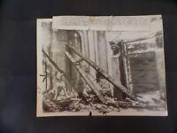 WW2 PRESS PHOTO. BERLIN PALACE WRECKED/BOMBED. 12/9/43