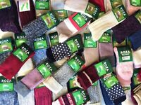 6 Pairs Women Ladies Wool Socks High Quality Cosy Long Winter Warm Socks UK JMFG