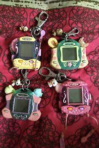 Hasbro LPS Littlest Pet Shop Handheld Digital  vritual Key Chain Pre Loved X4