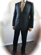 HUGO BOSS ★ SELECTION Anzug Suit GILBERT TOWER Einreiher Super150 black 52 NP599
