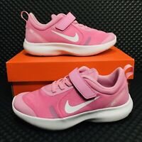 Nike Flex Experience RN 8 GS (Youth Girls Size 3 Y) Pink Running Shoes Sneakers