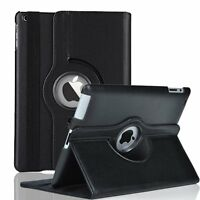 360 Folio PU Leather Cover Stand Case For Apple iPad 2 3 4 / 2nd 3rd 4th Gen 9.7
