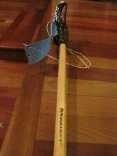 Bamshaft Wood Lacrosse Stick Shaft w Maverik Spider Head Look