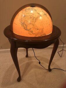 "Replogle Heirloom 16"" Floor Standing Lighted Globe"