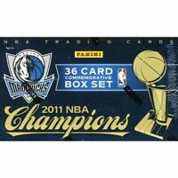 Panini's Dallas Mavericks '11 NBA Champions Box Set-36 SPECIAL CARDS -GREAT SALE