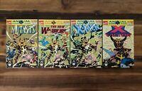 Kings Of Pain Marvel Annuals New Mutants New Warriors X Men X Force Comics Lot