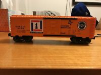 Lionel 6-9769 Bessimer and Lake Eire Box Car  customized
