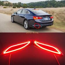 Light Guide Brake Light + Night DRL+ Turn Signals for Chevrolet Malibu 2016-2019