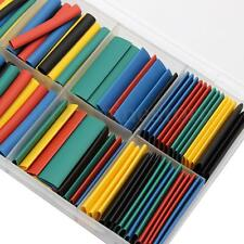 180pcs 5Color φ1.5-13mm Assorted 2:1 Heat Shrink Tube Sleeving Wrap Cable Kit