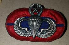 MASTER JUMPWINGS with 505th PIR 1st BATTALION OVAL - 1/20th SF - LIGI