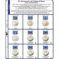 2 Sachets Masterphil Commemoratifs 2007 Traités De Roma