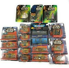 Star Wars Vintage Micro Machines 18 Figure Lot Jedi Stormtroopers Rebels
