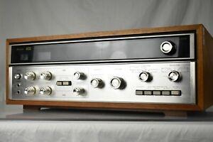 SANSUI QRX-3500 QUADRAPHONIC QS 4 Channel Stereo RECEIVER AMPLIFIER QRX3500 READ