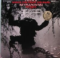 FRANCK Sonata For Violin and Piano / SZYMANOWSKI Mythes LP - Quadraphonic