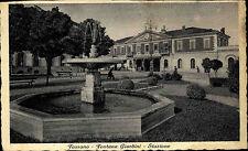Fossano Italien Italia Piemont ~1930 Fontana Giardini Stazione Bahnhof Brunnen