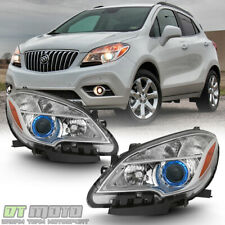 For 2013 2014 2015 2016 Buick Encore Halogen Headlights Lamps Lights Left+Right