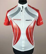 Craft RAIFFEISEN TRANS Cycling Jersey Men's Size XS Full-Zip Short Sleeve Shirt