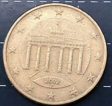 2002 FIFTY 50 CENT EURO COIN * 2
