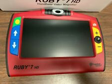 Ruby 7 HD Magnifier / Handheld / Portable / Freedom Scientific VIDEO LOW VISION