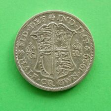 1929 George V Silver Half-Crown SNo47291