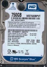 Western Digital WD7500BPVT-00HXZT3 750GB DCM: HACTJAN