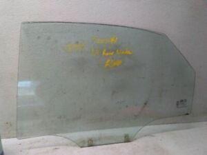 Drivers Rear Door Glass for 04-08 Suzuki Forenza 4 Door