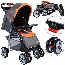 Foldable Baby Kids Convenience Stroller Newborn Infant Buggy Pushchair Summer
