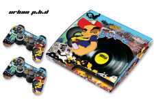 Skin Decal Wrap For PS3 Slim PlayStation 3  Console + Controller Urban PHD
