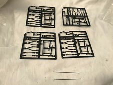 More details for 1 gauge 2x pairs of black plastic wagon brake sets ( tenmille ? )