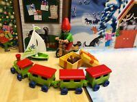 Playmobil Christmas Elf Boy Playset Figures Toys Santas Workshop Bundle