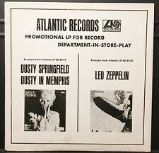 Led Zeppelin S/T USA 1968 WHITE LABEL PROMO In Store Play LP with Press Kit