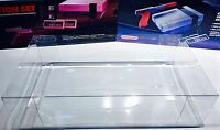 1 Console Box Protector For NES ACTION SET  Both Styles  Nintendo Display Boxes