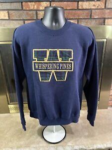 Vintage Whispering Pines Bar Resort Crewneck Sweatshirt Mens Sz XL Lee Sport