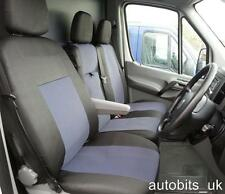 TO FIT MERCEDES SPRINTER W906 12 13 14 15 16 TAILORED GREY FABRIC SEAT COVERS