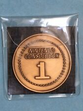 """NEW! OEM Official Nintendo CultureFly """"Nintendo Console Box 1"""" Collectible Coin"""