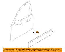 KIA OEM 04-09 Amanti FRONT DOOR-Body Side Molding Screw 877013F020